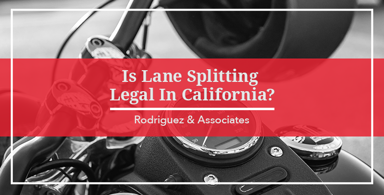 Is Lane Splitting Legal In California