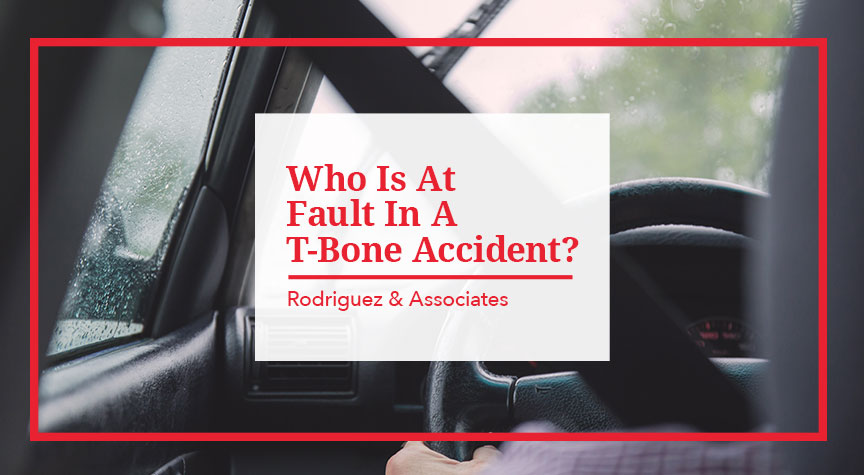 Who is at Fault in a T-Bone Accident
