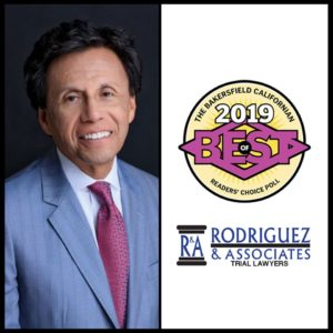Daniel Rodriguez Named best lawyer in Bakersfield