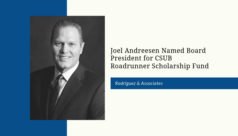 Joe Andreesen CSUB Roadrunner scholarship fund