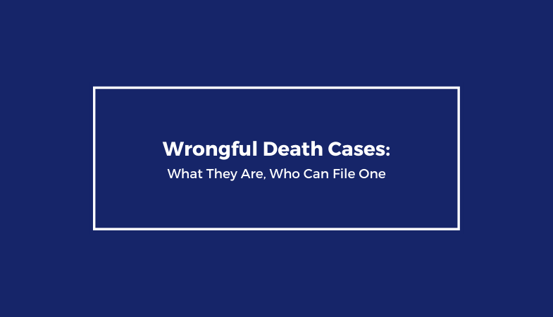 What are wrongful death cases