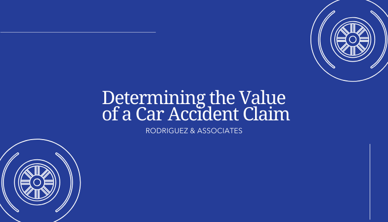 determining the value of a car accident claim