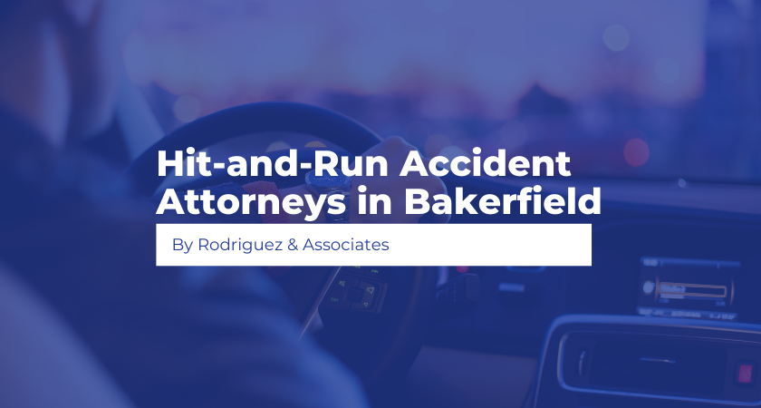 Hit-and-Run Accident Attorneys in Bakerfield