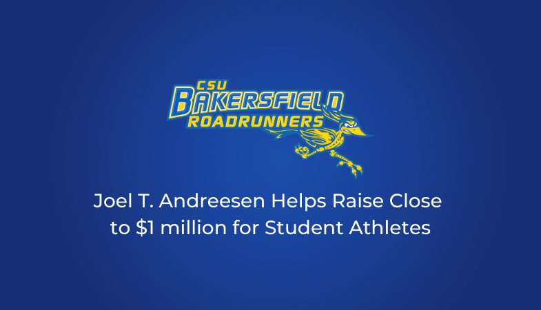 Joel T. Andreesen Helps Raise Close to $1 million for Student Athletes